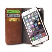 Puro iPhone 6 Magnetiskt Plånboksfodral - Brun
