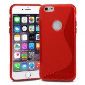 S-Line Flexicase Skal till Apple iPhone 6 / 6S  - Röd