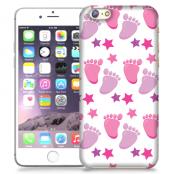 Skal till Apple iPhone 6 / 6S Plus - Babyfötter - Rosa