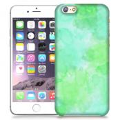 Skal till Apple iPhone 6 / 6S Plus - Vattenfärg - Grön