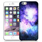 Skal till Apple iPhone 6 / 6S - Rymden - Lila/Blå