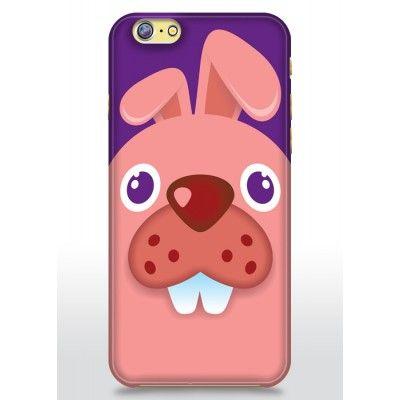 Skal till Apple iPhone 6 - Rosa kanin