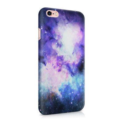 Skal till Apple iPhone 6(S) Plus - Rymden - Lila/Blå