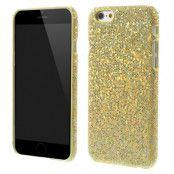 Sparkle Baksideskal till Apple iPhone 6 / 6S  - Guld