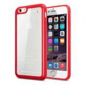 Terrapin Bumper Edge FlexiCase skal till Apple iPhone 6 / 6S (Röd)