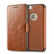 Verus Dandy Layered Plånboksfodral till Apple iPhone 6 / 6S (Brun)