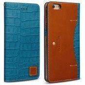 Wetherby Premium Croco (iPhone 6) - Blå