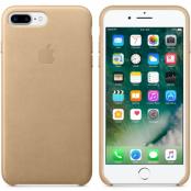 Apple Läderskal (iPhone 7 Plus) - Ljusbrun