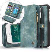 CaseMe Vintage 2-in-1 (iPhone 8/7 Plus) - Blågrön