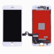 iPhone 7 Plus Glas med Original Skärm LCD Display - Vit