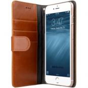 Melkco Wallet Case (iPhone 8/7 Plus) - Brun