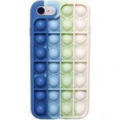 Pop it Fidget Skal till iPhone 7 Plus & iPhone 8 Plus - Blå