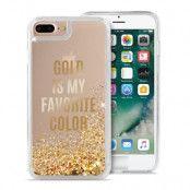 Puro Aqua Cover iPhone 7 Plus - Guld