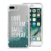 Puro Aqua Cover iPhone 7 Plus - Ljusblå