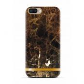 Richmond & Finch Glossy Marble (iPhone 8/7 Plus) - Brun