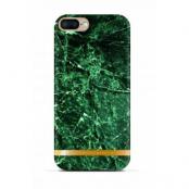 Richmond & Finch Glossy Marble (iPhone 8/7 Plus) - Grön