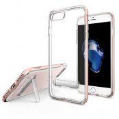 SPIGEN Crystal Hybrid Skal till iPhone 7 Plus - Rose Gold