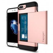 SPIGEN Slim Armor CS Skal till Apple iPhone 7 Plus - Rose Gold
