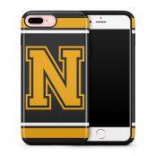 Tough mobilskal till Apple iPhone 7/8 Plus - Bokstav N