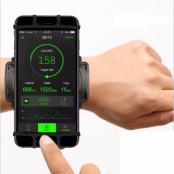 """Universal Sport Wristband till mobiler 4""""- 6.5"""" - Svart"""