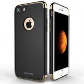DG Ming Leather Wallet (iPhone SE2/8/7) - Brun