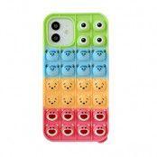 Multi Faces Pop it Fidget Skal till iPhone 7/8/SE