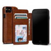 Sena Wallet Äkta Läder Plånboksfodral till iPhone 7 - Cognac