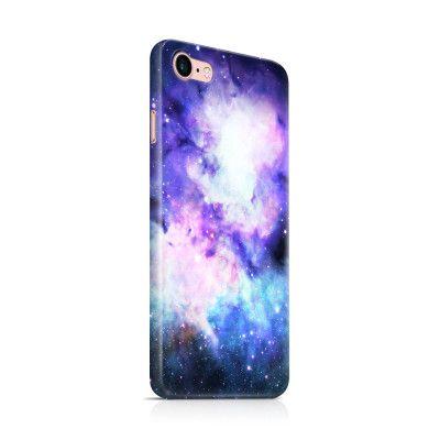 Skal till Apple iPhone 7 - Rymden - Lila/Blå