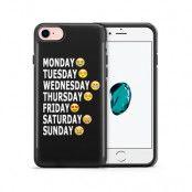 Tough mobilskal till Apple iPhone 7/8 - Emoji Week