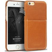 Wetherby Mobilskal med kortplats till iPhone 7 - Brun