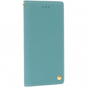 Wetherby Premium Ople Plånboksfodral till iPhone 7 - Emerald