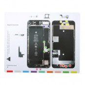 Magnetisk skruvmatta till iPhone 8 Plus