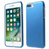 Mercury Metallic Jelly Case (iPhone 8/7 Plus) - Grå