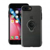 Puro Magnet Ring Cover iPhone 8 Plus/7 Plus - Svart