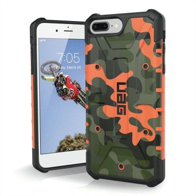 UAG Pathfinder Camo Case (iPhone 8/7/6(S) Plus) - Svart/grå
