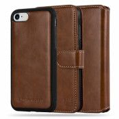 CoveredGear Texas Plånboksfodral till iPhone 7/8/SE 2020 - Brun