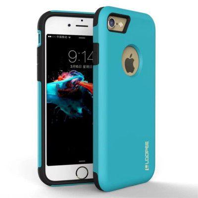 Loopee Hybrid Case (iPhone SE2/8/7) - Guld