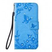Plånboksfodral till iPhone 8/7 - Blå Fjäril