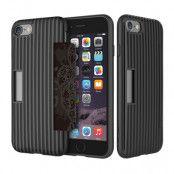 Rock flexicase skal till iPhone 7/8/SE 2020 - Svart