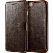 Verus Dandy Layered Plånboksfodral till iPhone 8/7 - MörkBrun
