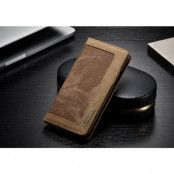 CaseMe Canvas Wallet (iPhone X/Xs) - Blå