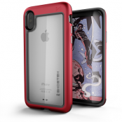 Ghostek Atmoic Slim Skal till Apple iPhone XS / X - Röd