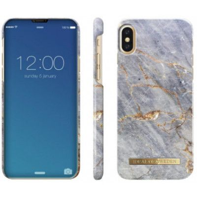 iDeal Of Sweden Fashion Marble (iPhone X/Xs) - Golden Blush