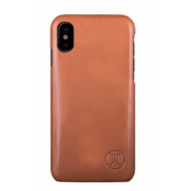 JT Berlin Leather Cover Pure Style (iPhone X/Xs) - Brun