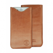 JT Berlin SlimFit Leather (iPhone X/Xs) - Brun