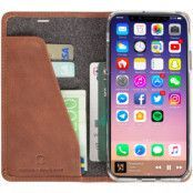 Krusell Sunne 4 Card FolioWallet (iPhone X/Xs) - Svart