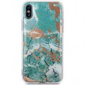 Marmur Marble Case (iPhone X/Xs) - Rosa