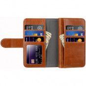 Melkco Wallet Extra Cardslots (iPhone X/Xs) - Svart