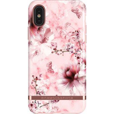 Richmond & Finch Marble Floral (iPhone X/Xs) - Svart