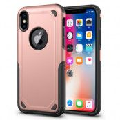 Rugged Armor Skal till Apple iPhone XS / X - Rose Gold